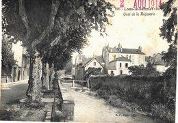Carte  Postale Ancienne De LONS Le SAUNIER - Quai De La Megisserie - Lons Le Saunier