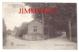 """CPA - Allée Des Soupirs En 1919 - SOMPUIS ( Arr. De Vitry Le François ) 51 Marne - Coll. """" Obus """" Maison Baudot N° 3 - Vitry-le-François"""