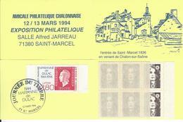 Carnet Privé CHALON S/s  Congrès Bourgogne-Franch-Comté - Carnets