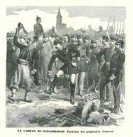 INC 10 - LA GUERRA FRANCO TEDESCA DEL 1870-71 - LA CADUTA DI STRASBURGO - Estampes & Gravures