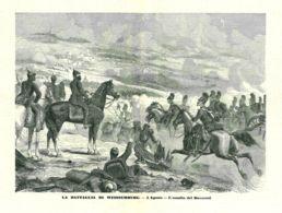 INC 15 - LA GUERRA FRANCO TEDESCA DEL 1870-71 - LA BATTAGLIA DI WEISSENBURGE - L'ASSALTO DEI BAVARESI - Estampes & Gravures