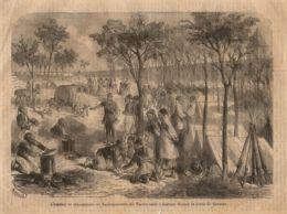 INC 22 - LA GUERRA FRANCO TEDESCA DEL 1870-71 - L'ASSEDIO DI STRASBURGO - Estampes & Gravures