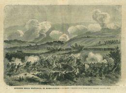 INC 16 - LA GUERRA FRANCO TEDESCA DEL 1870-71 - EPISODIO DELLA BATTAGLIA DI MARS LA TOUR - Estampes & Gravures