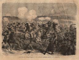 INC 26 - LA GUERRA FRANCO TEDESCA DEL 1870-71 - BATTAGLIA DI WORTH - Estampes & Gravures