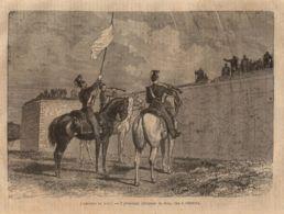 INC 27 - LA GUERRA FRANCO TEDESCA DEL 1870-71 - L'ASSEDIO DI TOUL - Estampes & Gravures