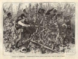 INC 29 - LA GUERRA FRANCO TEDESCA DEL 1870-71 - BATTAGLIA DI WIESSENBURG - Estampes & Gravures