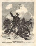 INC 30 - LA GUERRA FRANCO TEDESCA DEL 1870-71 - EPISODIO DELLA BATTAGLIA DI WORTH - Estampes & Gravures