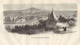 INC 43 - LA GUERRA FRANCO TEDESCA DEL 1870-71 - I FORTI DI PARIGI - Estampes & Gravures