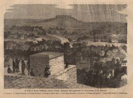 INC 50 - LA GUERRA FRANCO TEDESCA DEL 1870-71 - IL FORTE DI MONTE VALERIANO DINNANZI A PARIGI - Estampes & Gravures