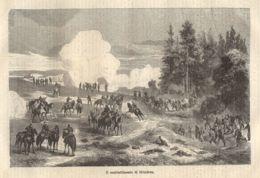 INC 51 - LA GUERRA FRANCO TEDESCA DEL 1870-71 - IL COMBATTIMENTO DI MEZIERES - Estampes & Gravures