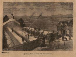 INC 53 - LA GUERRA FRANCO TEDESCA DEL 1870-71 - LA DIFESA DI PARIGI - Estampes & Gravures