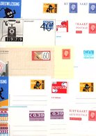 PAYS BAS NEDERLAND MARCOPHILIE LOT D'ENTIERS NEUF POIDS 65 GRAMMES - Vrac (max 999 Timbres)