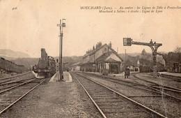 MOUCHARD   - Lignes Dole A Pontarlier - France