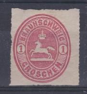 ALLEMAGNE  PRUSSE 1858:  Le 1G. Bleu (Y&T 13), Neuf * - Brunswick
