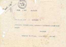 """Cachet """" POSTE AUX ARMÉES 10/11/1950 """" SANS ETOILES Sur Courrier Du SP 50481 BPM  601 - Postmark Collection (Covers)"""