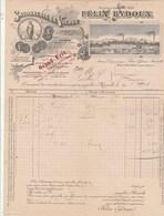 Facture Illustrée 22/8/1901 Félix EYDOUX Savonnerie De La Vierge Savon Du Mikado  MARSEILLE Bouches Du Rhône - 1900 – 1949