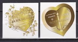 FRANCE 2019 Saint Valentine Hearts Luxury Jewelry Boucheron Adhesive MNH ** Luxe - France