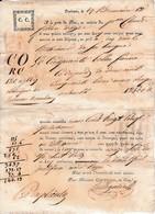 Brumaire An 12 - Toulouse - Connaissement Pour Agde De MM. COURTOIS & Cie - Documents Historiques