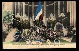 57 - NOISSEVILLE - Inauguration Du Monument Français De Noisseville. Le Catafalque Et Les Couronnes à La Cathédrale - Andere Gemeenten