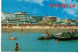 RIVABELLA DI RIMINI  - SPIAGGIA E ALBERGHI - (RN) - Rimini