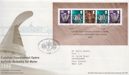 Great Britain SS On FDC - Covers