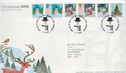 Great Britain Set On FDC - Covers