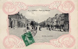 AUMALE   - Place Du Marche - Aumale