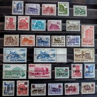 Romania - 1991 - Hotels And Chalets - Mint Definitive Stamp Set (complete Set) - Ungebraucht