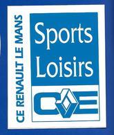 A.C.  C.E. RENAULT LE MANS Sports Loisirs - Autocollants