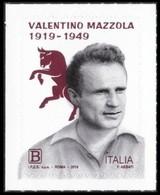 Italia • Italy (2019) Calcio/football: Valentino Mazzola - Single Stamp (MNH) - Football