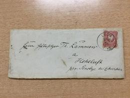 K6 Deutsches Reich 1876 Brief Von Leck Nach Hoheluft - Deutschland