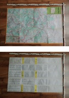 DDR-Touristenkarte / Landkarte Berlin Nord; VEB Tourist Verlag 1980 - 5956321 - Maps Of The World