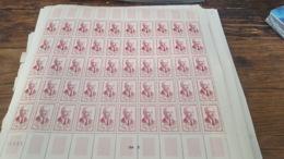 LOT 439989 TIMBRE DE FRANCE NEUF**  LUXE N°1249 VALEUR 100 EUROS FEUILLE - Feuilles Complètes