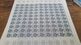 LOT 440010 TIMBRE DE FRANCE NEUF**  LUXE N°PR187 VALEUR 120 EUROS FEUILLE - Feuilles Complètes