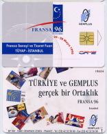 Salon 96 Istambul Gemplus Test Demo Neuve Numérotée - Turquie