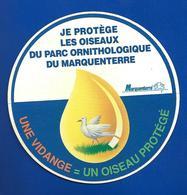 A.C.  MARQUENTERRE Je Protège Les OISEAUX - Autocollants