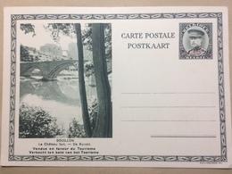 BELGIUM - 1930`s Illustrated Postcard - Bouillon Le Chateau Fort De Burcht - Belgium