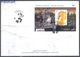 Finland 2008 Mi Bl 49 FDC ( FDC ZE3 FNLbl49 ) - Minerals