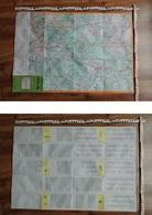 DDR-Touristenkarte / Landkarte Berlin Süd; VEB Tourist Verlag 1979 - 5956348 - Maps Of The World
