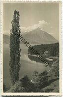 Interlaken - Thunersee Mit Niesen - Foto-Ansichtskarte - Verlag Phot. Stump & Cie. Interlaken - BE Berne