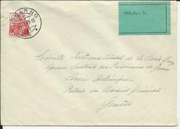 215, San Salvatore, Obl. Locarno 27.IX.41, Vignette Verte SPG.9.- 1. - Suisse