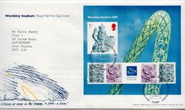 Great Britain SS On FDC - Postzegels