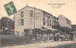77 - Seine Et Marne / 10062 - Thorigny - Restaurant Mercier - Beau Cliché Animé - Autres Communes