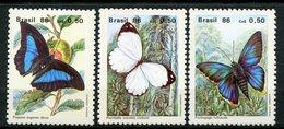 Brazil, Yvert 1794/1796, Scott 2048/2050,  MNH - Brazil