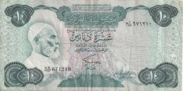 LIBYE 10 DINARS ND1984 VF P 51 - Libye
