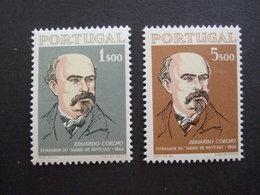 PORTUGAL 1964. MI 972/73 YVERT 953/54  . MNH **. (IS54-NVT) - Nuevos