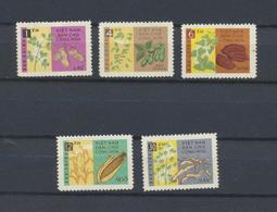 Viêt-Nam  Plantes Et Légumes  Vietnam  Yvert  294/8  De 1962 MNH XX - Viêt-Nam