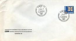 Genève 1964 - CERN Recherche Nucléaire - Atome Atom Nuke - Marcophilie