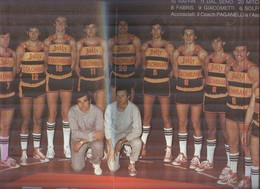 JOLLY COLOMBANI .1976-77..TEAM...PALLACANESTRO....VOLLEY BALL...BASKET - Tarjetas
