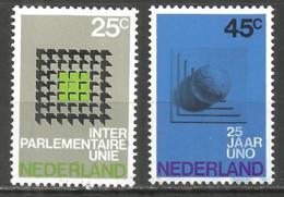 Netherlands 1970 Year , Mint Stamps MNH (**) - 1949-1980 (Juliana)